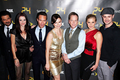 Kiefer and other 24 cast in New York