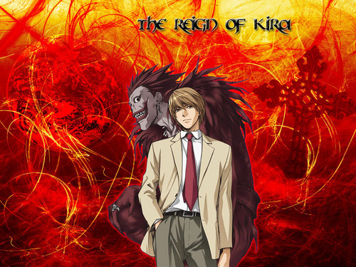 Death Note achtergrond titled Kira