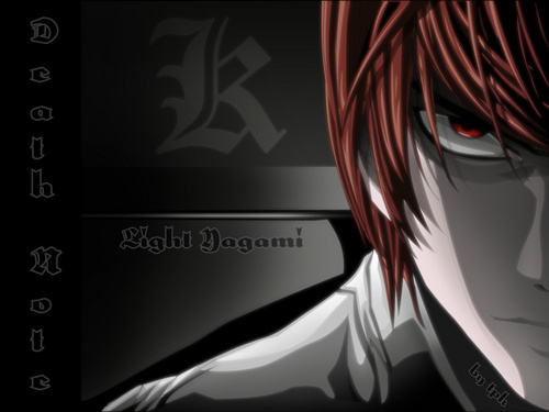 death note wallpaper entitled Kira