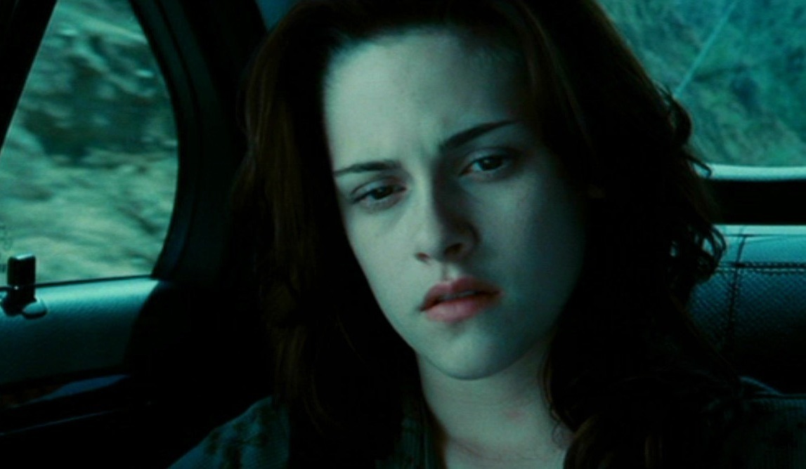 Kristen as Bella in Twilight x