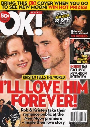 Kristen magazine covers