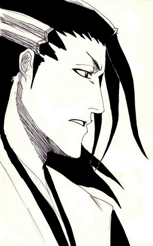 Kuchiki Byakuya वॉलपेपर titled Kuchiki Byakuya 6th Division Captain