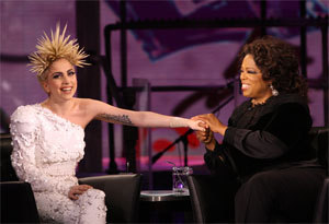 Lady GaGa on Oprah