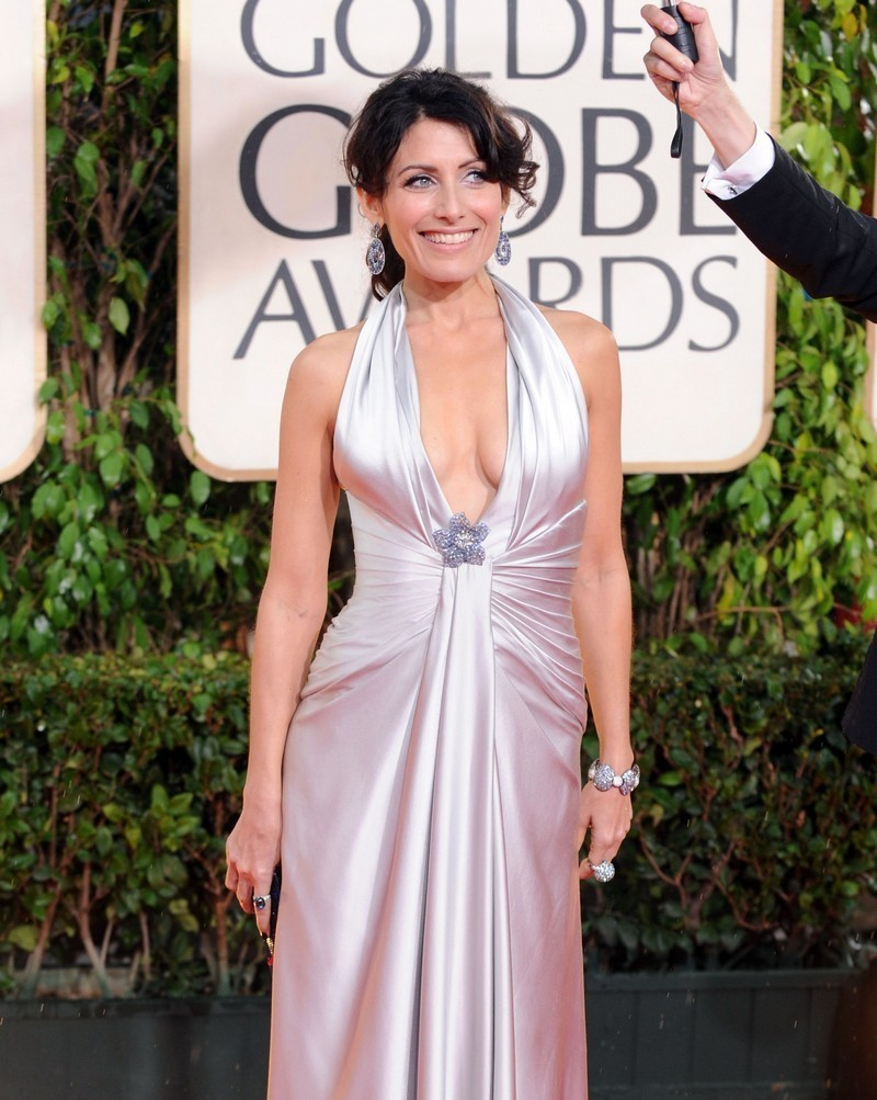 Lisa Edelstein at the 67th Annual Golden Globe Awards(January 17th)
