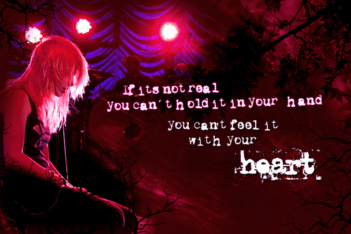 Paramore wallpaper entitled Lyric Banners