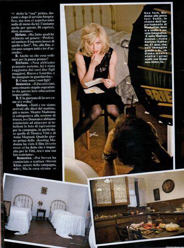 Madonna in Chi Magazine (Italy)