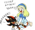 Maria's Tickle Attack - shadow-the-hedgehog photo