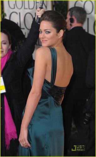 Marion @ 2010 Golden Globe Awards