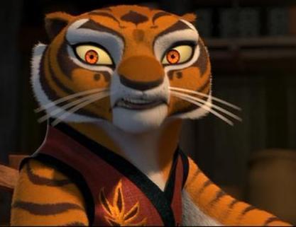 Kung fu panda tiger - photo#4