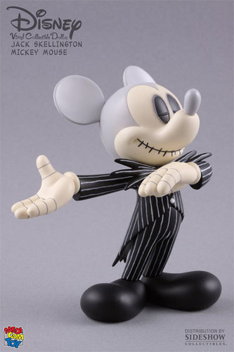 蒂姆·伯顿 壁纸 called Mickey Skellington