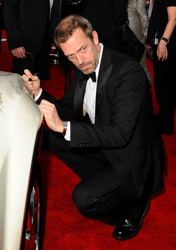 madami 67th G. Globe Awards - Hugh Laurie