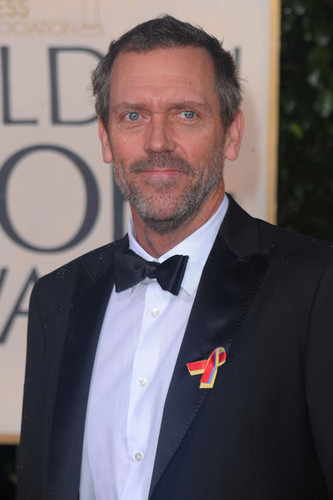 più 67th G. Globe Awards - Hugh Laurie