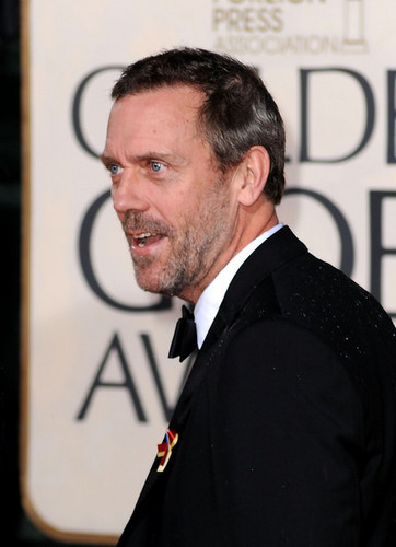 More 67th G. Globe Awards - Hugh Laurie - house-md Photo