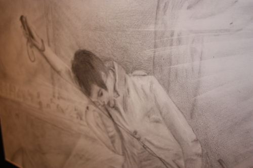 My drawing of brendon