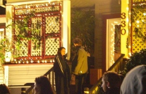New/Old Twilight Set تصویر With Robert Pattinson & Kristen Stewart