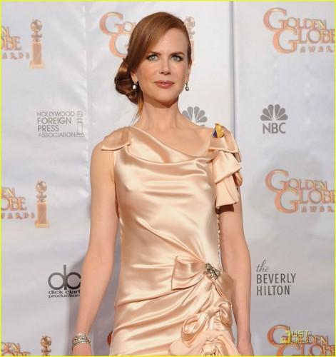 Nicole @ 2010 Golden Globe Awards