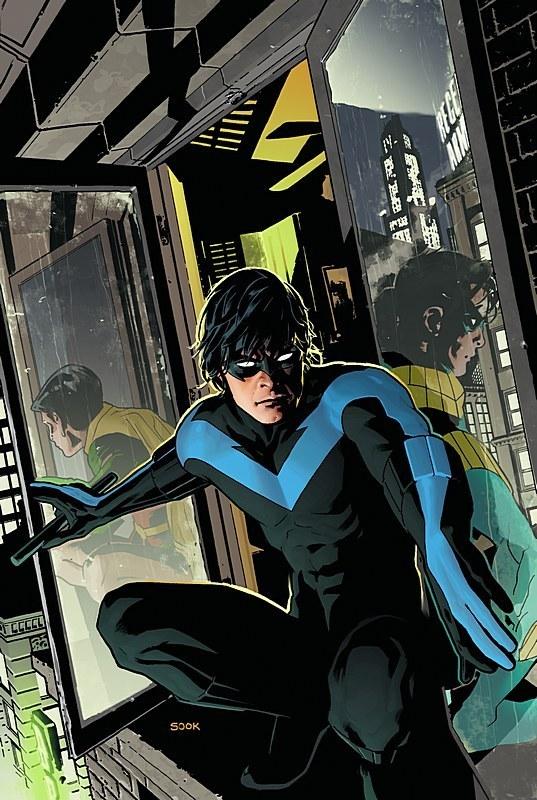 Robin becomes nightwing