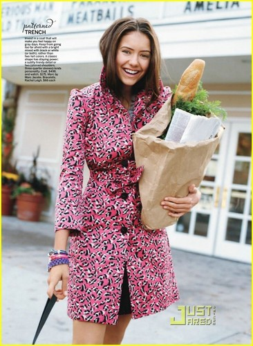 Nina Dobrev//Fashion self mag