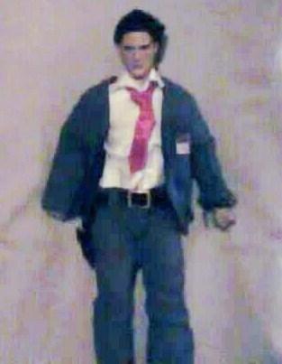OOAK Aaron Hotchner doll (Omnivore)