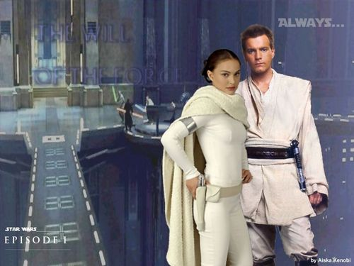 Obi-Wan & Padme Amidala wallpaper called Obidala*