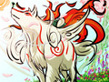 Okami Fan Art - okami-amaterasu fan art
