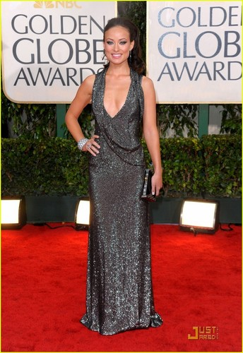 Olivia Wilde @ Golden Globes 2010