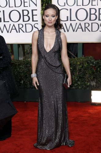 House, M.D. karatasi la kupamba ukuta titled Olivia Wilde at the 67th Annual Golden Globe Awards(January 17th)