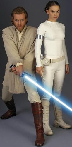 Padme and Obi-Wan