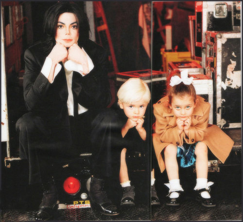 Prince Michael Jackson wallpaper entitled Prince, Paris, and Michael.