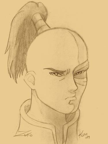 Prince Zuko Sketch
