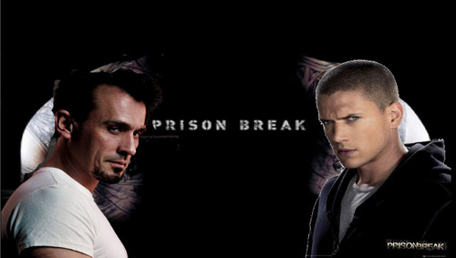 Prison Break-Michael and T-Bag