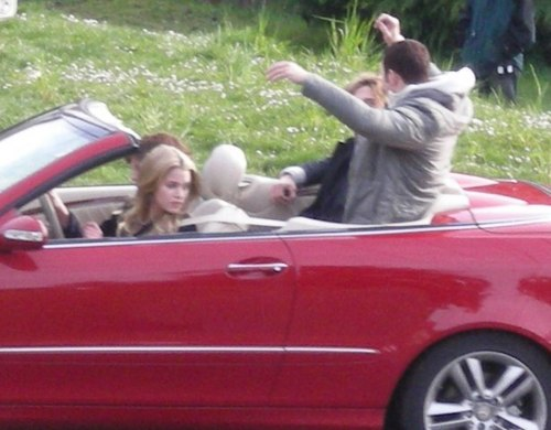 RARE pics of Twilight Set