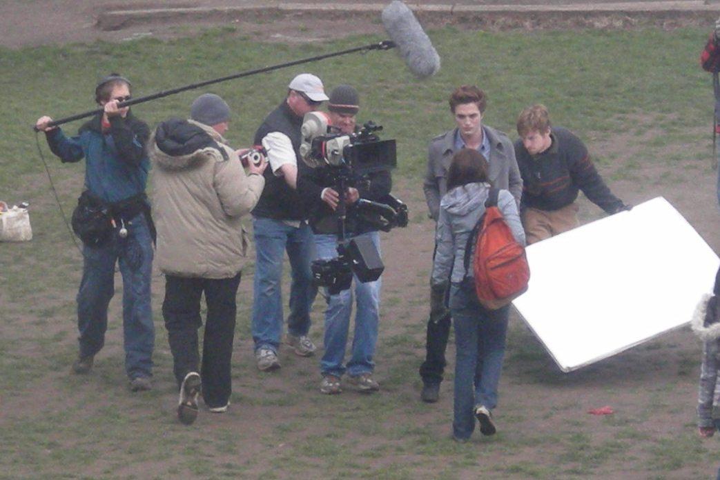RARE pics of Twilight Set