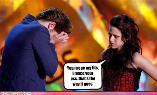 Rob & Kristen Funny :D
