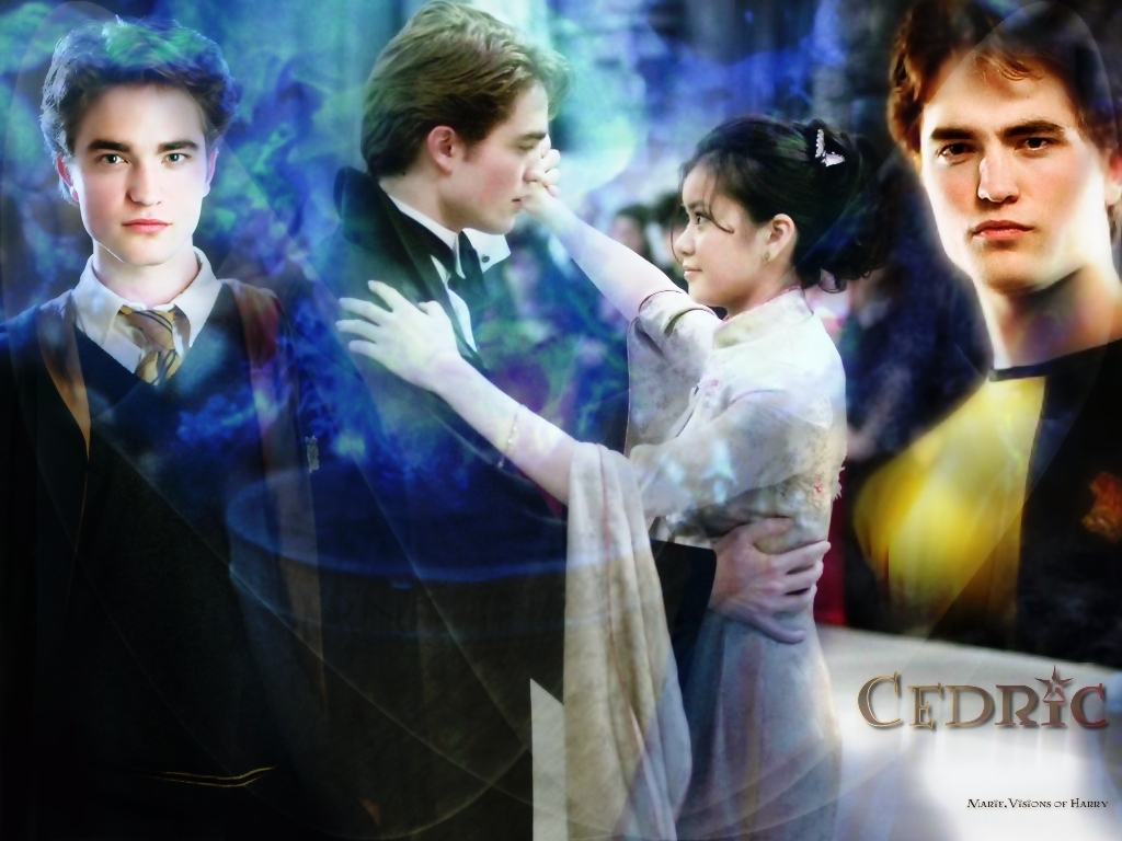 Robert Pattinson as Cedric HP