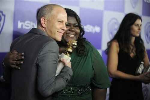 Ryan Murphy and Gabourey Sidibe @ 67th Golden Globes After Party