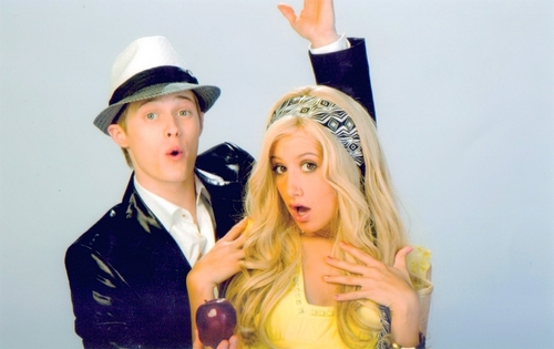 High School Musical 3 바탕화면 entitled SHARPAY &RYAN