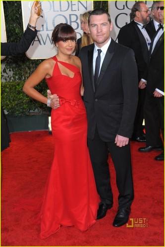 Sam @ 2010 Golden Globe Awards