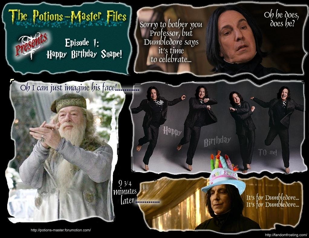 Snape's Birthday