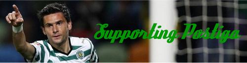 Supporting Postiga