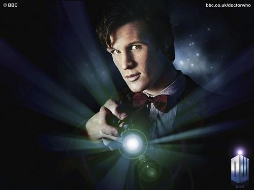 The Eleventh Doctor karatasi la kupamba ukuta called The Eleventh Doctor