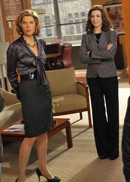 The Good Wife wallpaper called The Good Wife - Behind the scenes