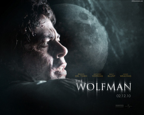 映画 壁紙 entitled The Wolfman
