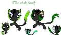 The whole family - powerpuff-and-rowdyruff-animals fan art