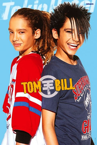 Tom Kaulitz fond d'écran called Tom & bill kaulitz
