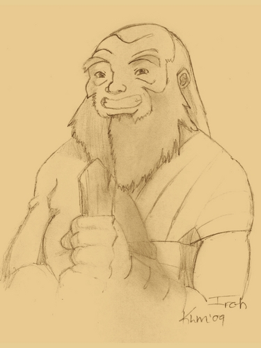 Uncle Iroh Sketch
