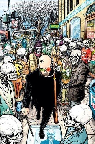 Vertigo Comics | aranha Jerusalem of Transmetropolitan