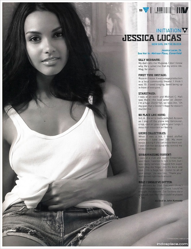 jessica lucas leather