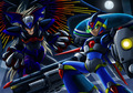 X and Zero in there hyper form - megaman-and-sonic-the-hedgehog photo