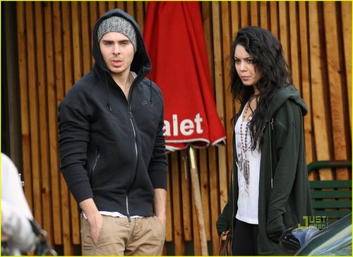 Zanessa Out in Studio City